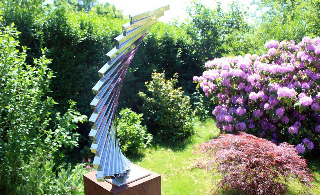 RVS tuinbeeld