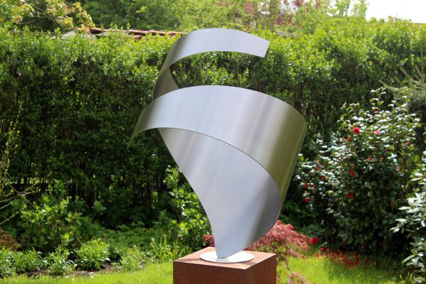 Pre-view abstract-stainless steel-image-embrace