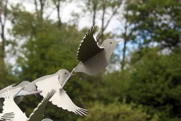 bird image abstract-stainless steel-sculpture-birds-putter-detail2