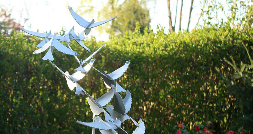 Stainless steel bird image putters