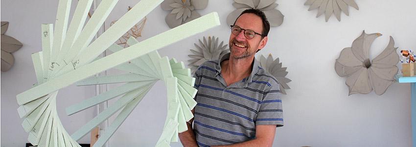 kunstenaar Jeroen Stok