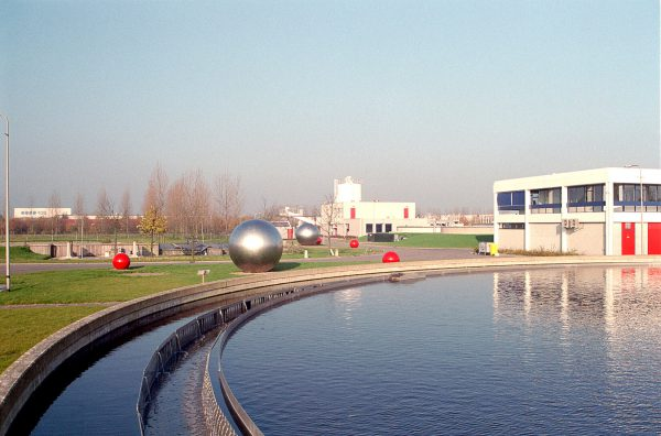 art commissioned for water purification in Almere