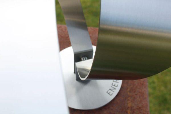 detail art assignment stainless steel garden sculpture