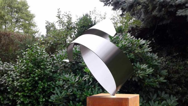 Stainless steel art assignment-private garden