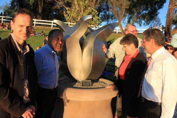 unveiling stainless steel stainless steel tulips in Temecula
