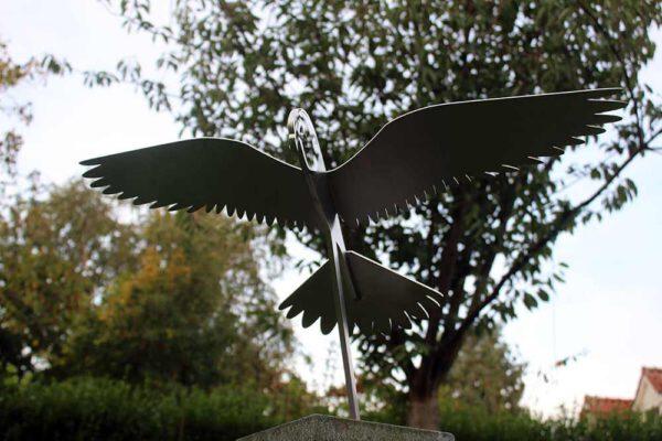vogelbeeld valk in vlucht