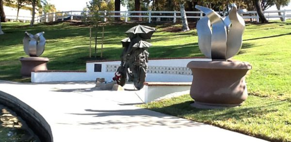 kunst in opdracht stainless steel tulips-temecula-california-jeroenstok
