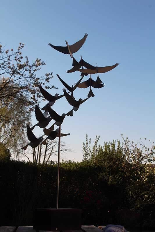 bird sculpture putter