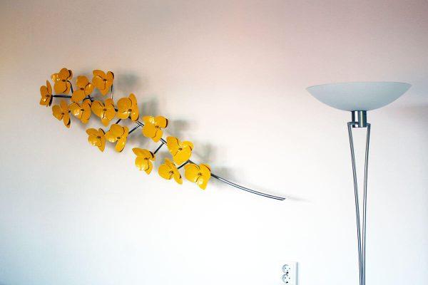 wall sculpture orchideetak